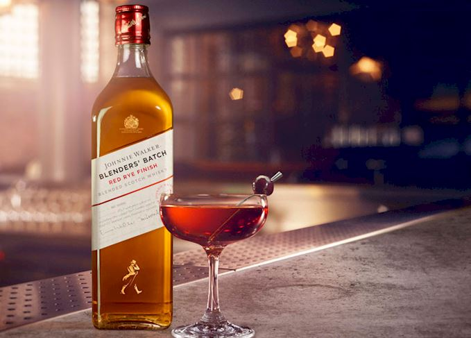 New Limited Edition Johnnie Walker Red Rye Finish