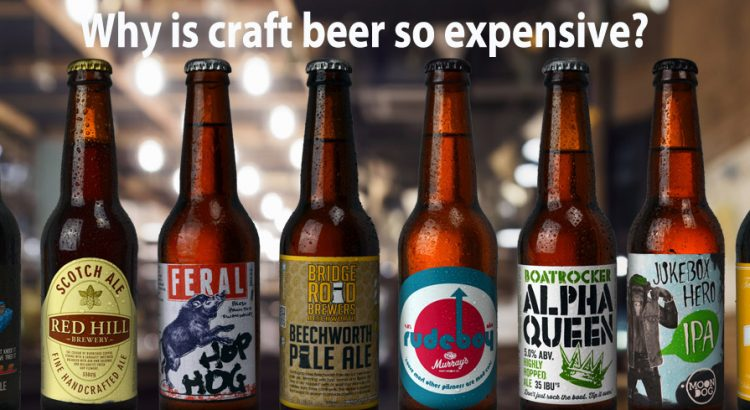 Why is craft beer more expensive mybottleshop spirits for Craft beer capital of the world